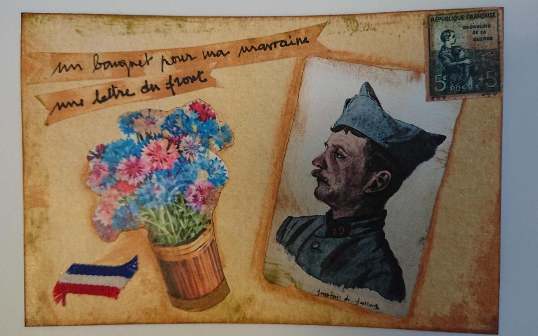 Centenaire de la Grande Guerre : réaliser des cartes à la manière des poilus