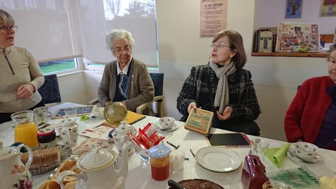 Réminiscence : Petits déjeuners en famille très convivial