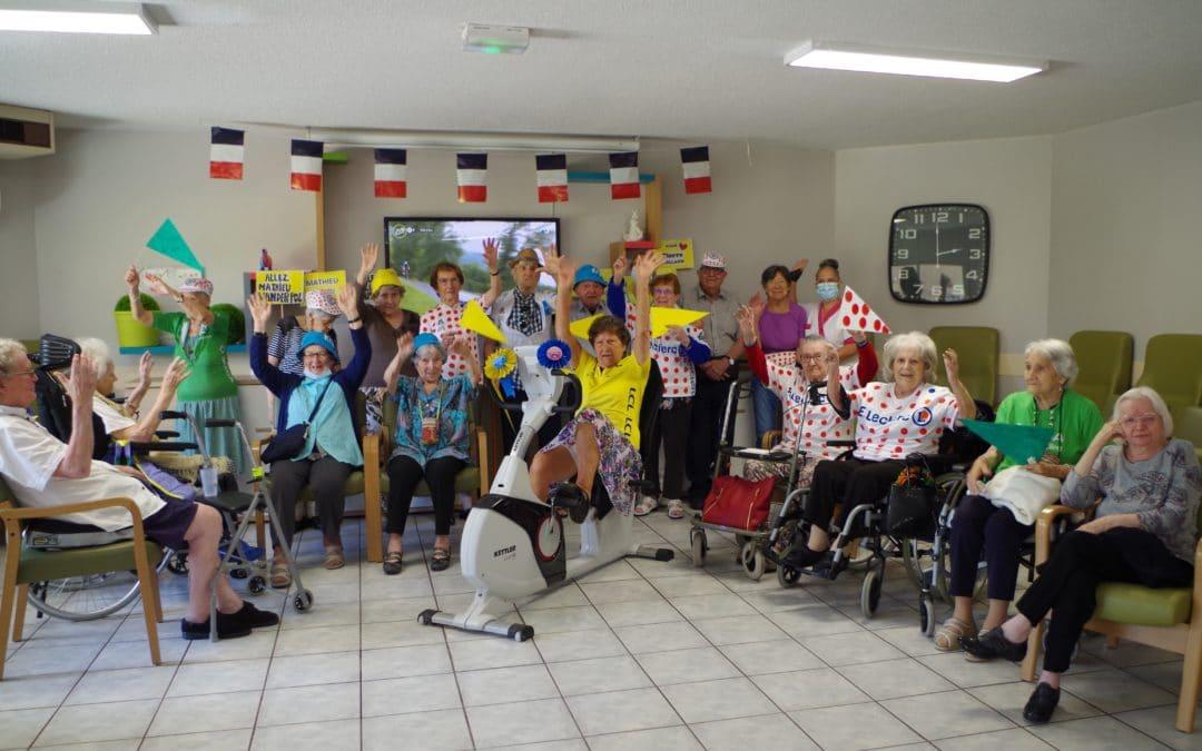 ACTIVITE SPORTIVE ET SOLIDAIRE : «Se remettre en selle pour soutenir les coureurs  du Tour de France»